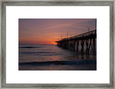 Framed Print featuring the photograph Virginia Sunrise by Pete Federico