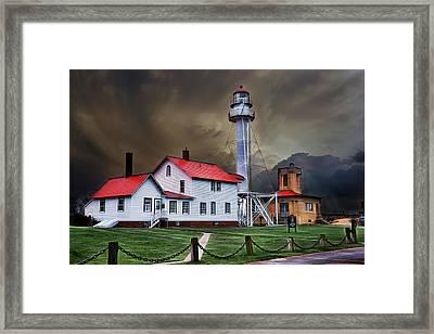 Whitefish Point Lighthouse Framed Print