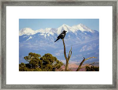 Framed Print featuring the photograph Winter Is Coming by David Morefield
