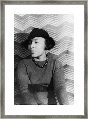 Zora Neale Hurston Framed Print by Fotosearch