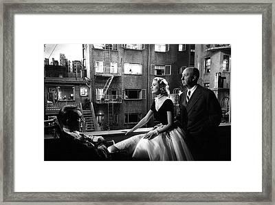 Rear Window Framed Print by Michael Ochs Archives