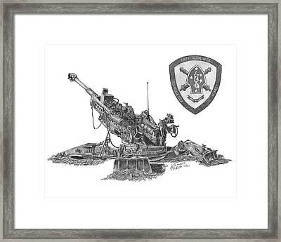 10th Marines 777 Framed Print