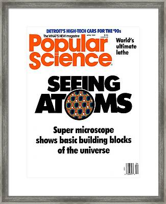 Popular Science Magazine Covers Framed Print by Popular Science