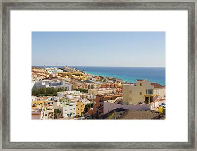 View Of The Town Framed Print by Maremagnum