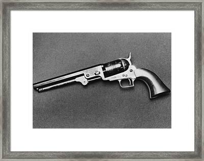 1851 Colt Navy Framed Print by Keystone