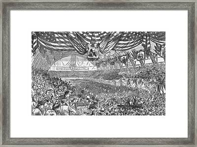 1884 Republican National Convention Framed Print by Kean Collection