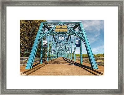 1890 Walnut Street Bridge Chattanooga  -  1890walnutstreetbridgechattanooga137350 Framed Print