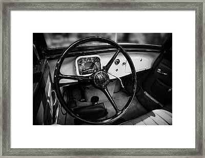 1936 Citroen Roadster Framed Print