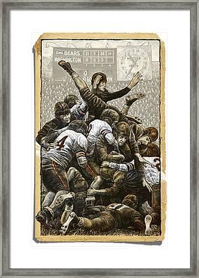 1940 Chicago Bears Framed Print