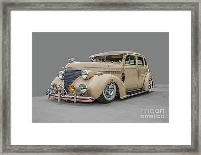 1939 Chevrolet Master Deluxe Framed Print