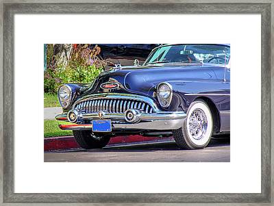 1953 Buick Skylark - Chrome And Grill Framed Print