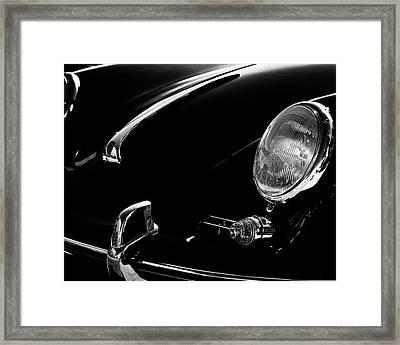 1956 Porsche 356 Framed Print