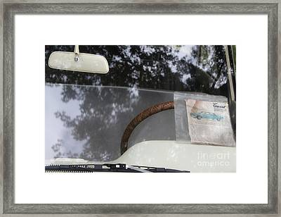 1960 Corvair  Framed Print by Steven Digman