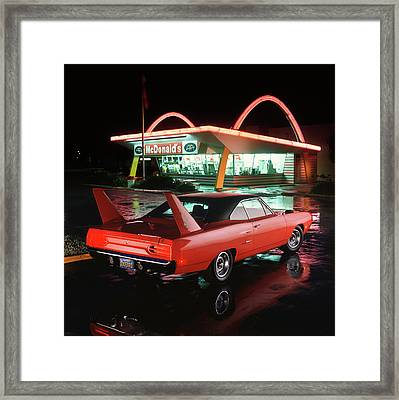 1970 Plymouth Superbird Framed Print