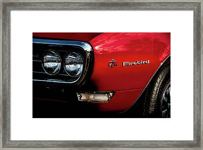 Framed Print featuring the photograph 1st Generation Firebird by Onyonet  Photo Studios