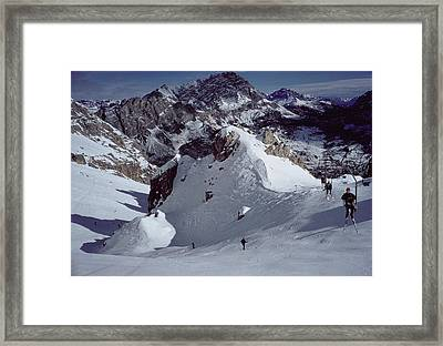 Cortina Dampezzo Framed Print by Slim Aarons