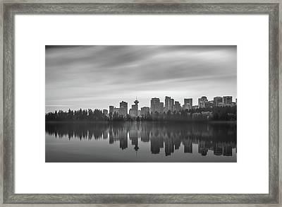Downtown Vancouver Framed Print