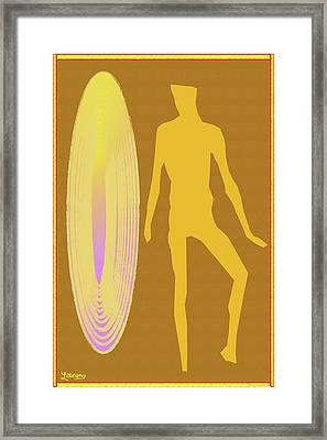 Golden Mist Framed Print by Laurence Wolfe