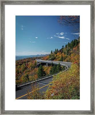 Linn Cove Viaduct - Blue Ridge Parkway Framed Print