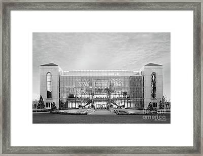 Loyola University Klarchek Commons Framed Print