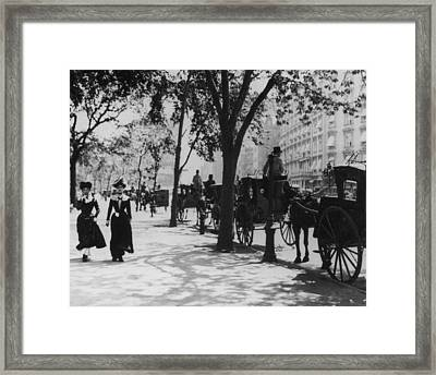 Madison Square Park Framed Print by Fpg