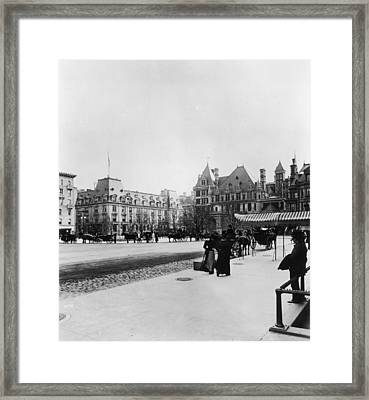 New York City, New York Framed Print by Fotosearch