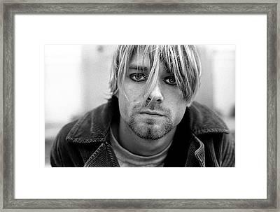 Nirvana In Shepherds Bush Framed Print by Martyn Goodacre