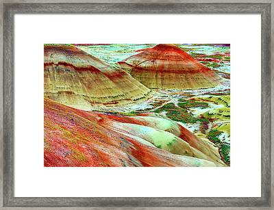 Painted Hills John Day Fossil Beds Framed Print