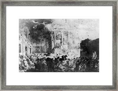 Pompeii Framed Print by Hulton Archive