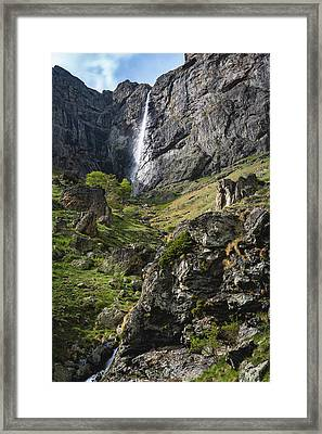 Raysko Praskalo Waterfall, Balkan Mountain Framed Print