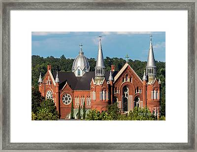 Sacred Heart Cultural Center - Augusta Ga Framed Print