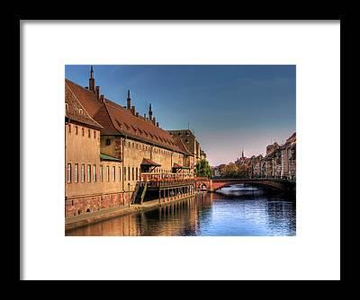 River Ill Framed Prints