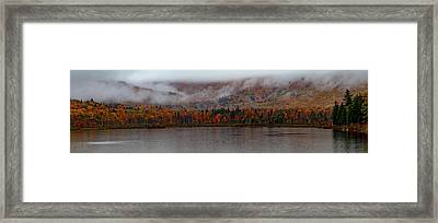 The Basin In Maine Framed Print