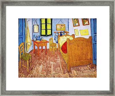Van Gogh's Bedroom At Arles Framed Print
