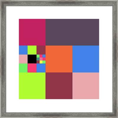 2018-10-21-15-36 Grid Framed Print