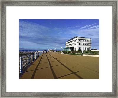 22/09/18  Morecambe. The Midland Hotel. Framed Print
