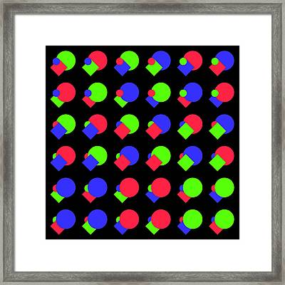 225 Circle And Square - Phi Framed Print