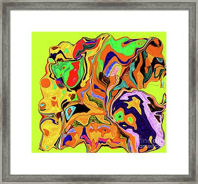 3-19-2010wabcdefghiklmnop Framed Print