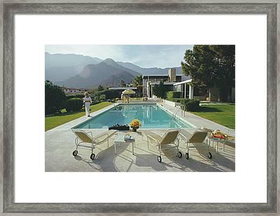 Kaufmann Desert House Framed Print