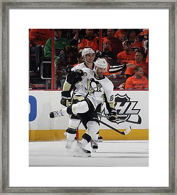 Pittsburgh Penguins V Philadelphia Framed Print