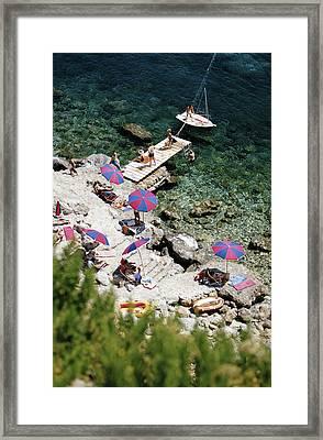Porto Ercole Framed Print