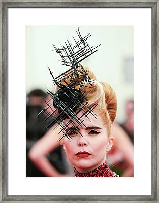 Punk Chaos To Couture Costume Institute Framed Print by Andrew H. Walker