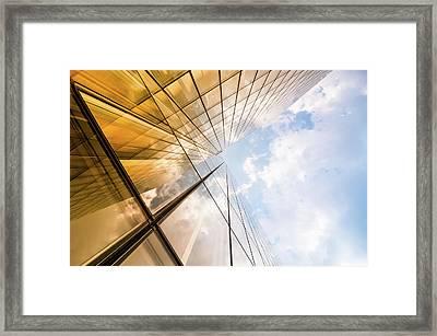 Skyscraper Framed Print by Mmac72