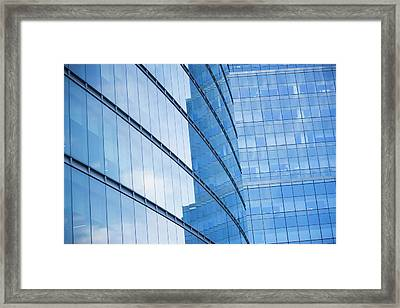 Usa, New York State, New York City, Low Framed Print by Fotog