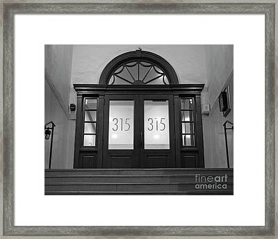 Framed Print featuring the photograph 315 by Patrick M Lynch