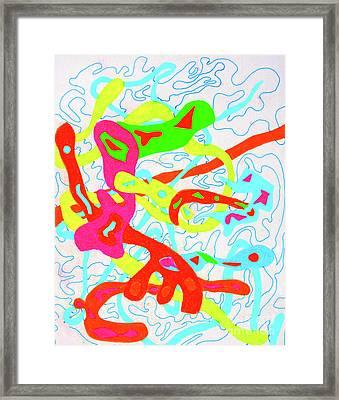 4-12-2010a Framed Print