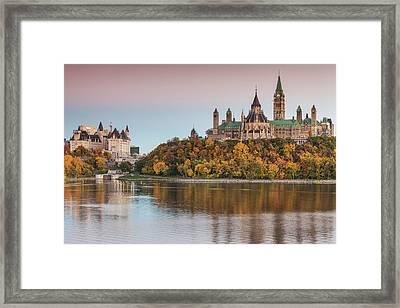 Canada, Ontario, Ottawa, Canadian Framed Print