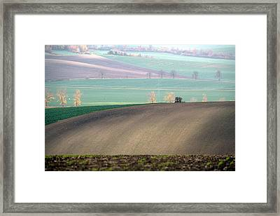 Autumn In South Moravia 5 Framed Print