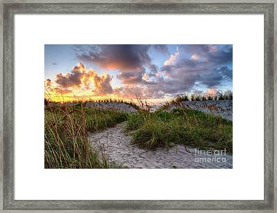 48th Ave. Sunrise North Myrtle Beach Framed Print