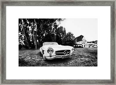 Mercedes 190sl Framed Art Prints Fine Art America